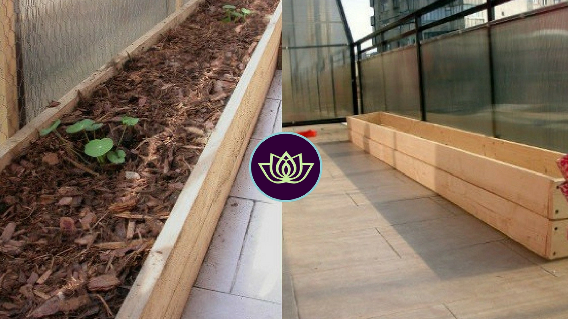 How to: Make a wooden raised planter for your balcony (any size)