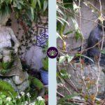 Glastonbury Terrace Garden Focal Points - Garden Statues