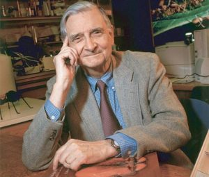 EO Wilson photo By Jim Harrison - article Conscious Life Space Guru