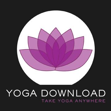 Yoga Download dot Com LOGO