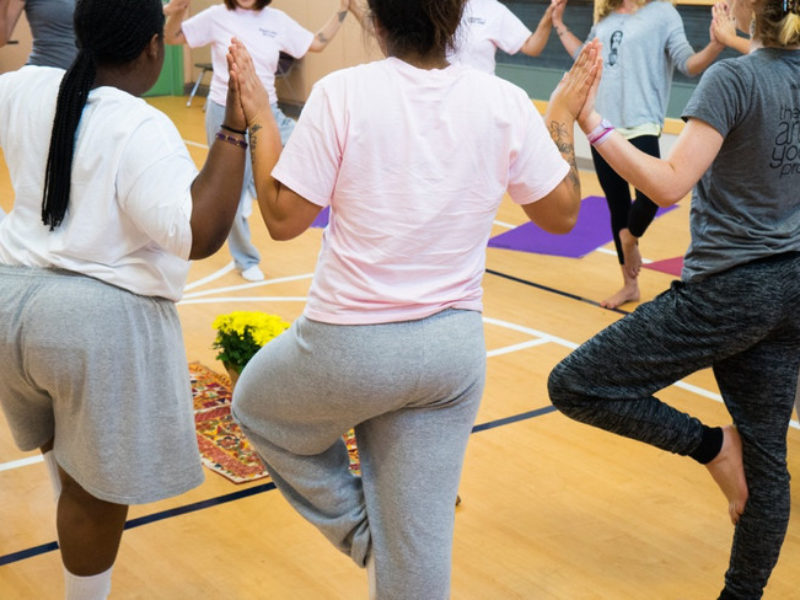 How Yoga is Helping Girls Heal from Trauma