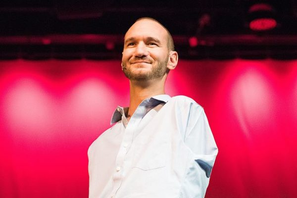 Nick Vujicic, Photo By Hector Dupont