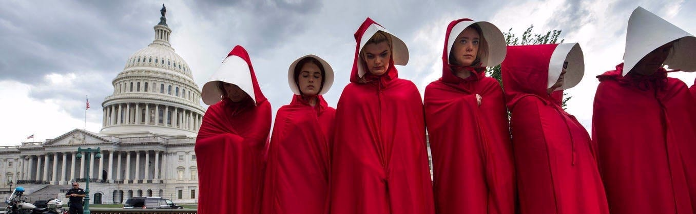 Handmaid's Tale Protest Washington