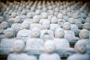 Buddha statues photo credit Jed Adan CC0