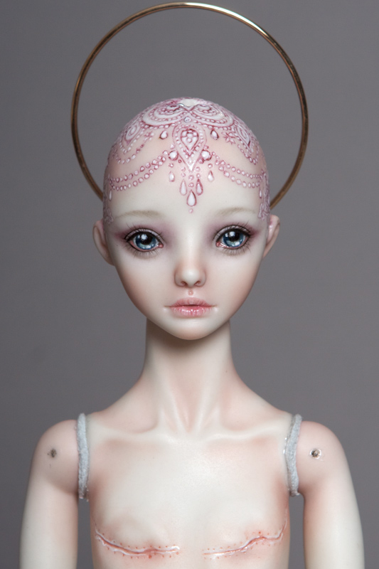 Surviving Project image of artist Marina Bychkova Enchanted Dolls - Breast Cancer Doll