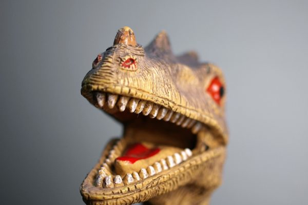 Plastic Dinosaur Photo by Umanoide on Unsplash - Conscious Life Space Guru