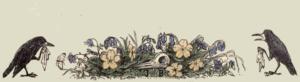 historic illustrations mourning crows public domain - Conscious Life Space Guru