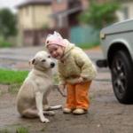 girl with dog cc lic - Conscious Life Space Guru