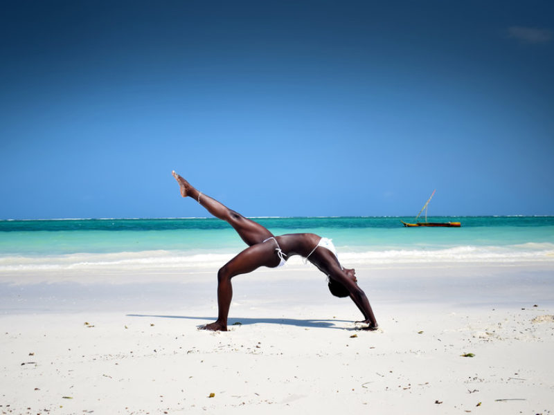 Yoga is bringing well-being and employment to young people in Africa