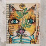 Featured Image for Yin Yoga - Cat Art Face - Photo credit: Uriel Soberanes - Conscious Life Space Guru
