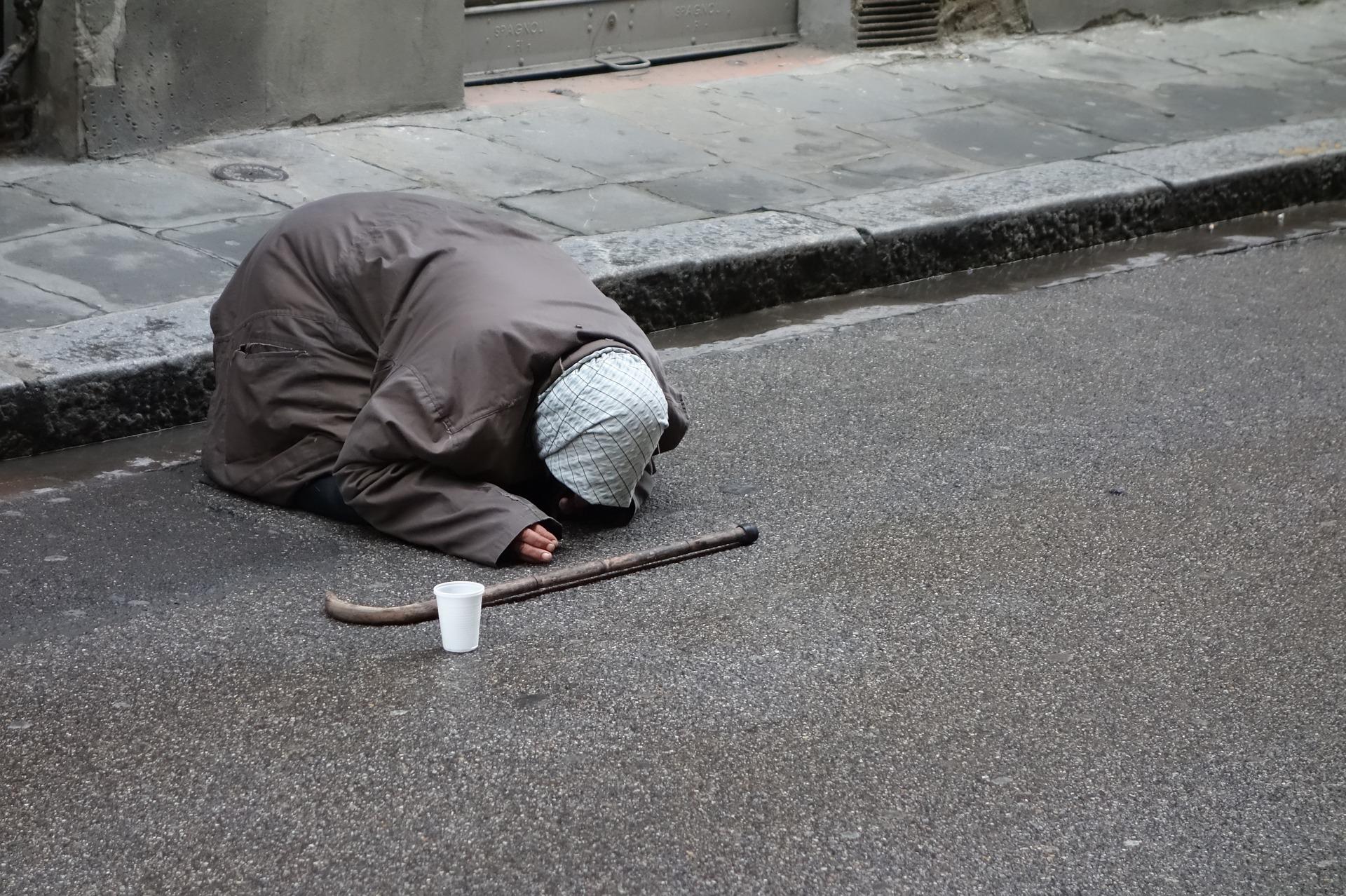 Beggars knocking on my door