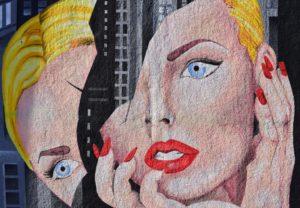 Woman breaking apart art photo by Chris Barbalis on Conscious Life Space https://consciouslife.guru