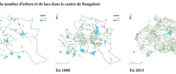 city map with changes bangalore