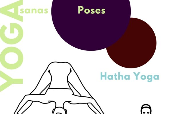 5 yoga poses asanas infographic conscious life space