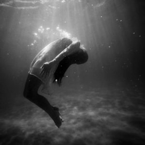 Women drowning BW Photo by Christopher Campbell