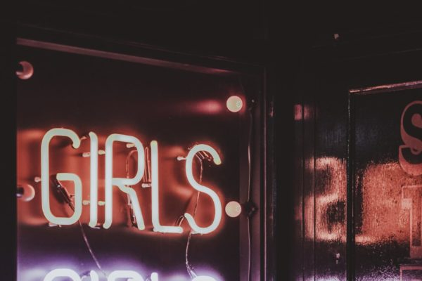 Girls Girls Girls Neon Sign - photo by Joshua K Jackson CC0 on Conscious Life Space