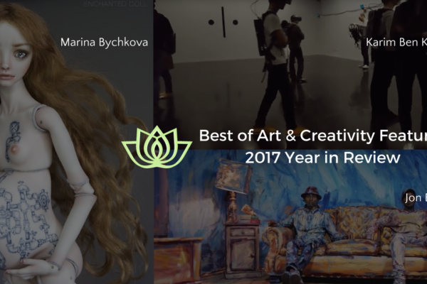 best of creativity featured review 2017 conscious life space - enchanted dolls marina bychkova, jon boogz and Karim Ben Khelifa