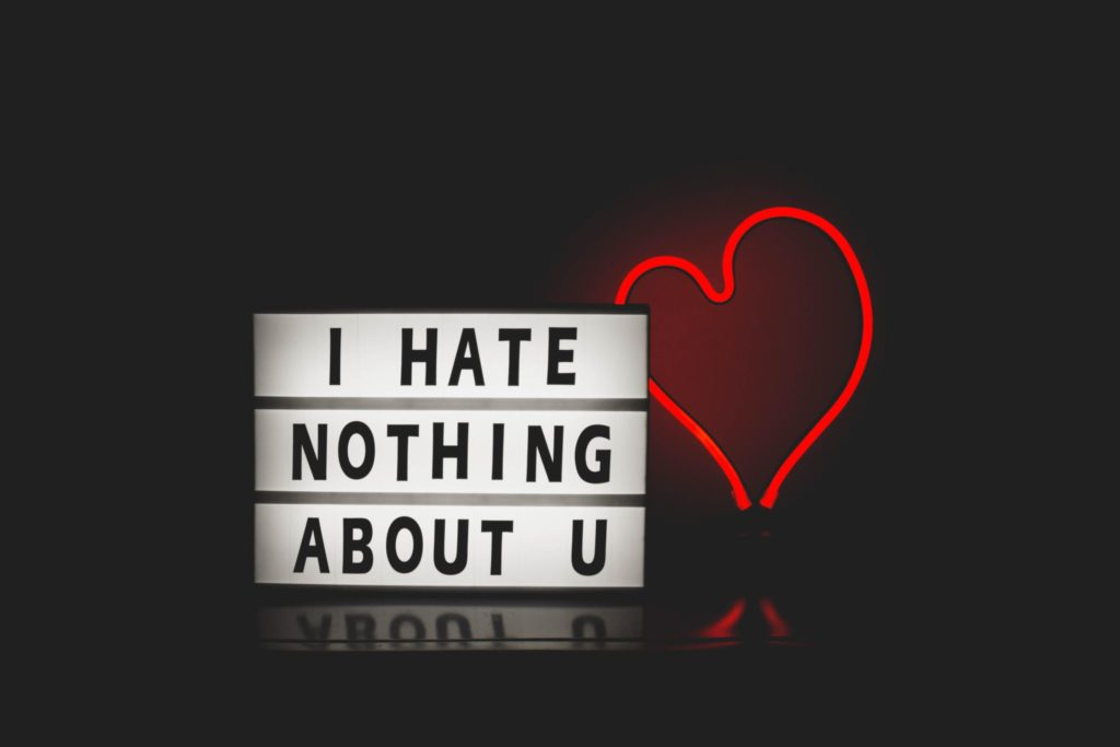 I Hate Nothing About U by Design Ecologist on Conscious Life Space - Our Dissatisfaction with Ourselves