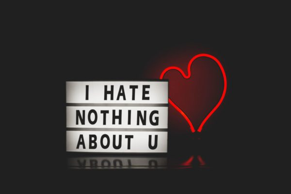 I Hate Nothing About U by Design Ecologist on Conscious Life Space