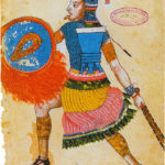 Nezahualcoyotl (1402-1472), ruler of Texcoco, as depicted in the 16th century Codex Ixtlilxochitl. Date 16th century Source Scanned from Aztecs (ed. Eduardo Matos Moctezuma and Felipe Solis Olguin), p. 45. Author Anonymous