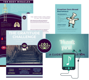 Gratitude Challenge Grouped Items - Conscious Life Space