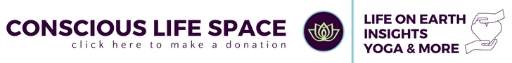 Support Conscious Life Space when you make a donation