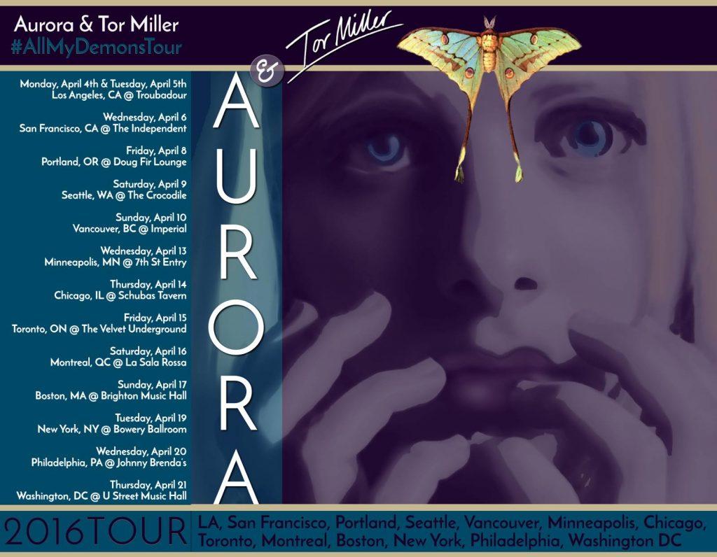 Aurora Poster 2016 by Amy Adams - 1