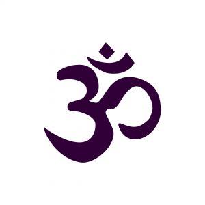 aum - om symbol - we are one - conscious life space