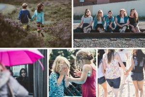 photo collage of girls on Conscious Life Space