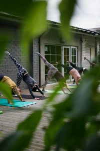 Outdoor Yoga Class photo by Rima Kruciene - Conscious Life Space