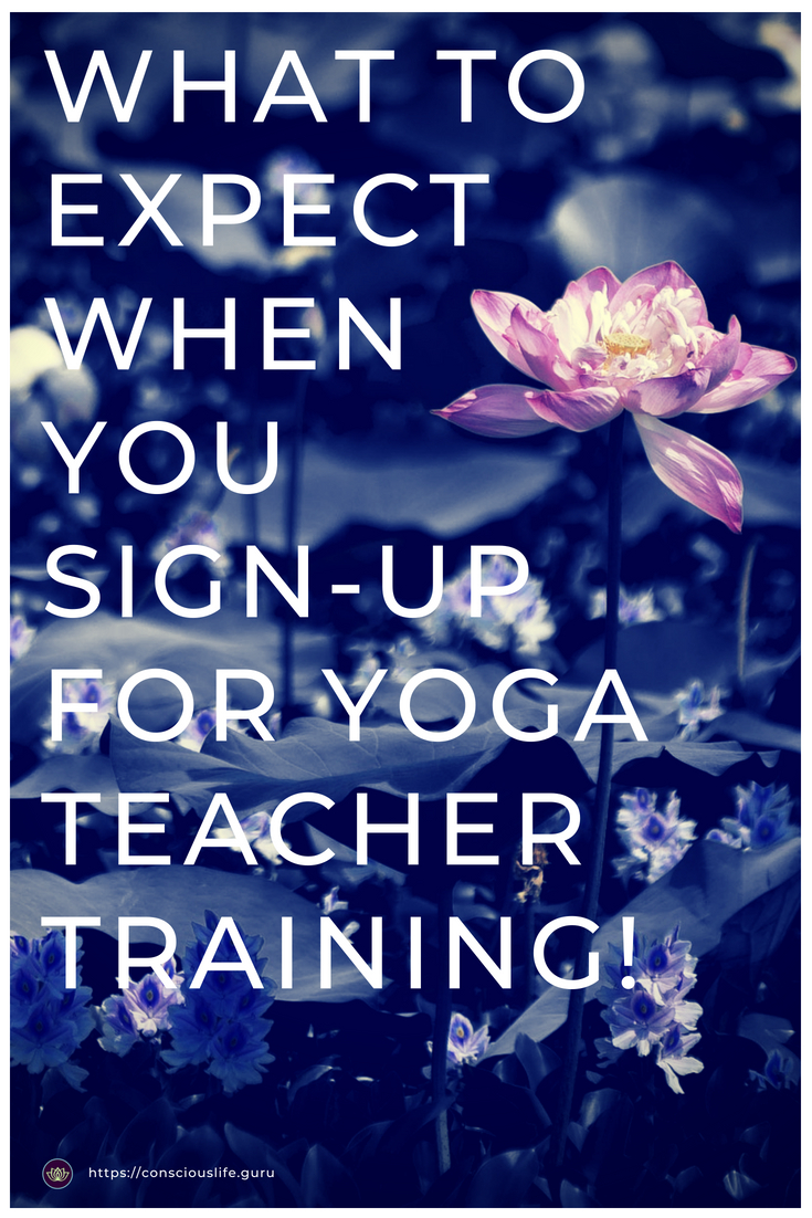 What to expect at yoga teacher training - conscious life space