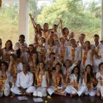Myranda Arnett Yoga Teacher Training Class Goa India