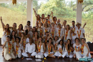 Myranda Arnett Yoga Teacher Training Class Goa India