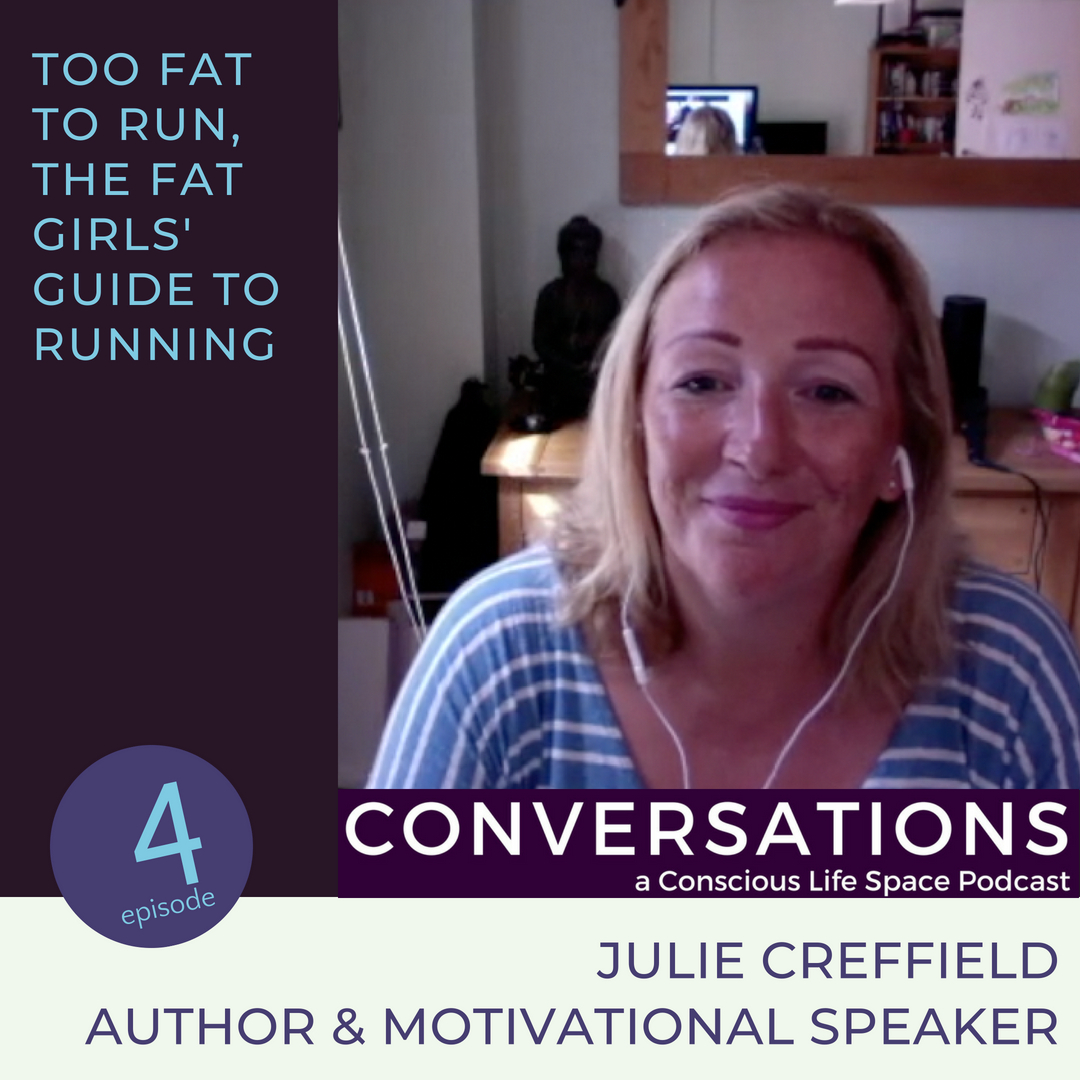 Driven by shame and fame, Too Fat to Run's founder Julie Creffield joins us in conversation