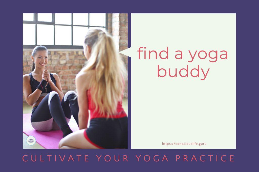 Find a yoga buddy