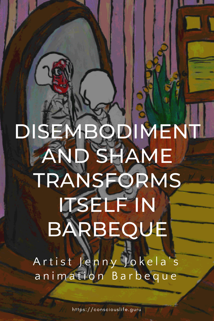 Jenny Jokela's art fromBarbeque an animated short