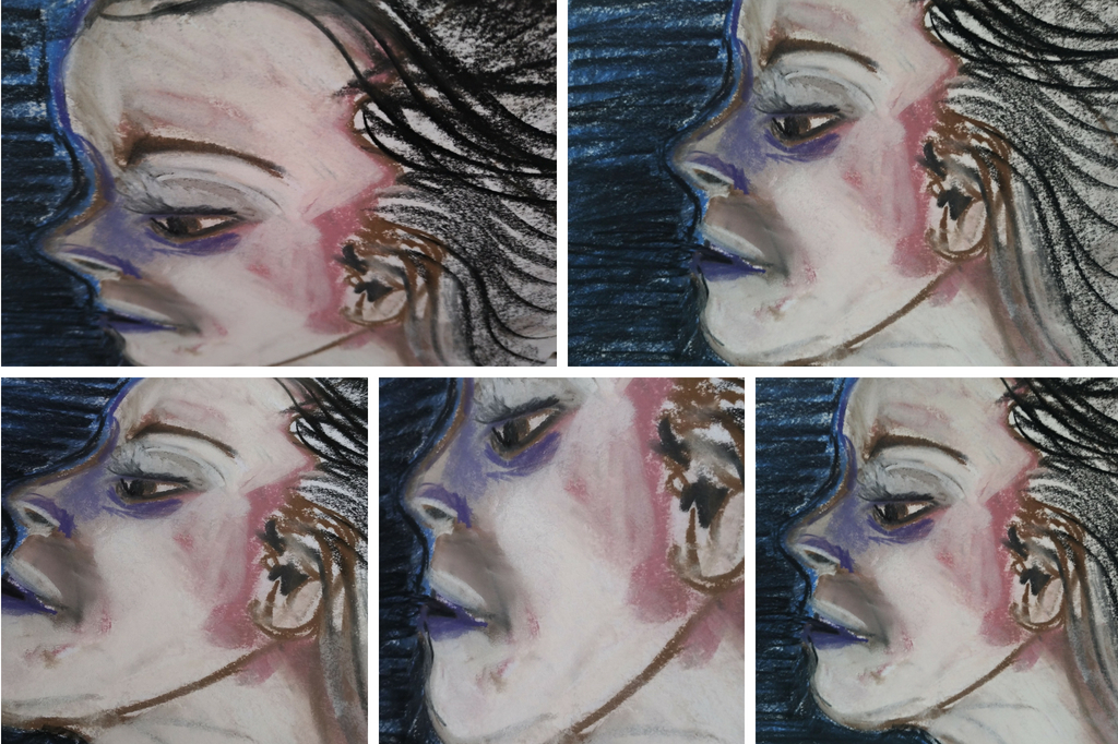 series of images from 1 drawing by amy adams artist