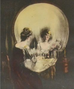 Allan Gilbert, Skull Illusion 1902