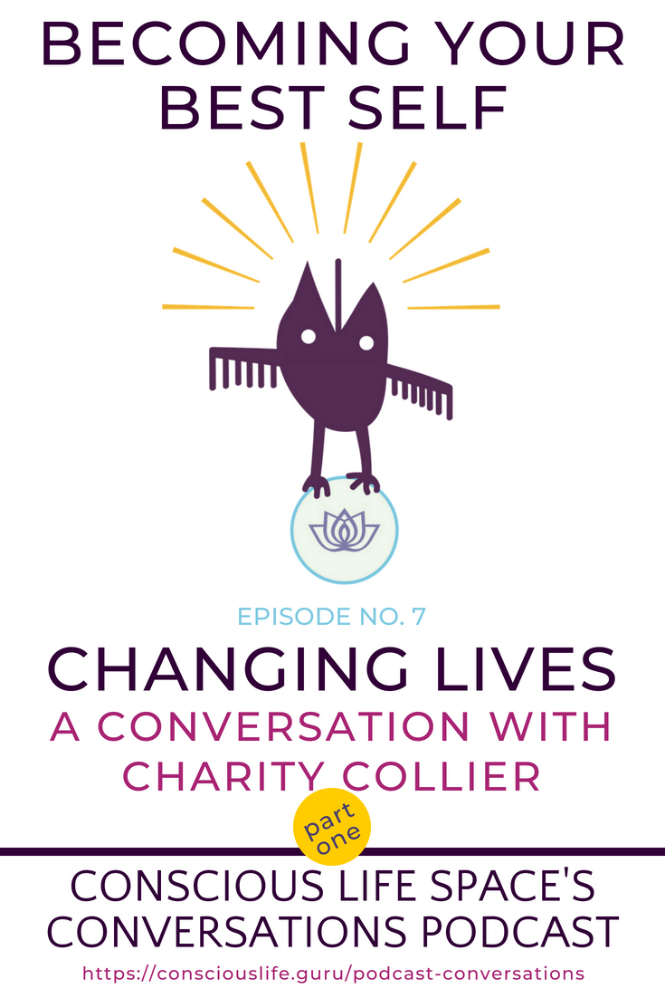 Conversations Podcast Episode 7 - Charity Collier, Mindfulness Expert Teacher and Addiction Counselor