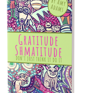 Gratitude Shmatitude! Don't just think it, do it! Book on how to practice gratitude