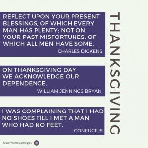 Grateful quotes for Thanksgiving Rituals Gratitude