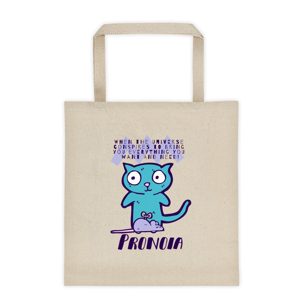 Pronoia Cat Tote bag