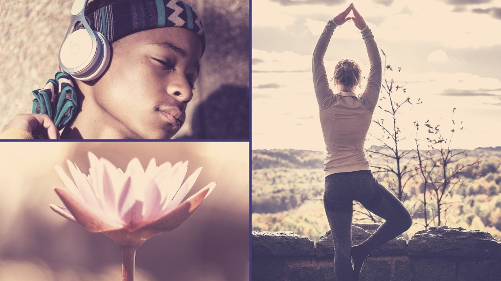 Three ways to reduce stress naturally - yoga, meditation and plant supplements
