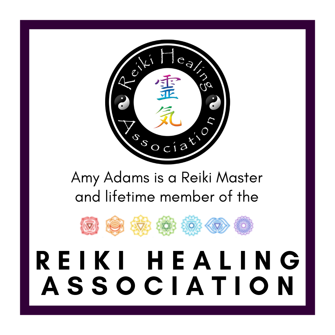 Amy Adams Reiki Master and Member of the Reiki Healing Association